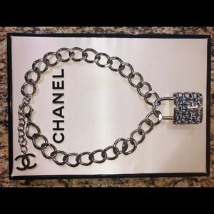 CHANEL Jewelry - Chanel lock necklace